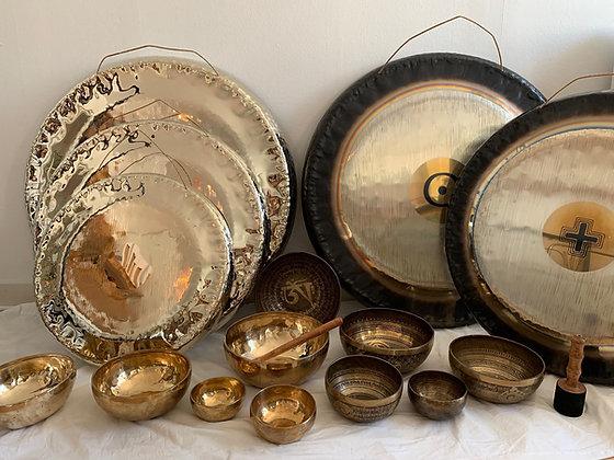 Gongs og syngeskåle - Findes i Gongshoppen