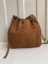 Luna Bag af silke - Brownie  - Relove and Roses
