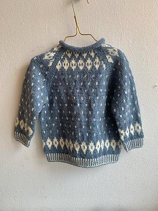 Ulden sweater - blå