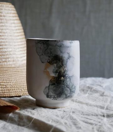 Keramik krus i farven Boble