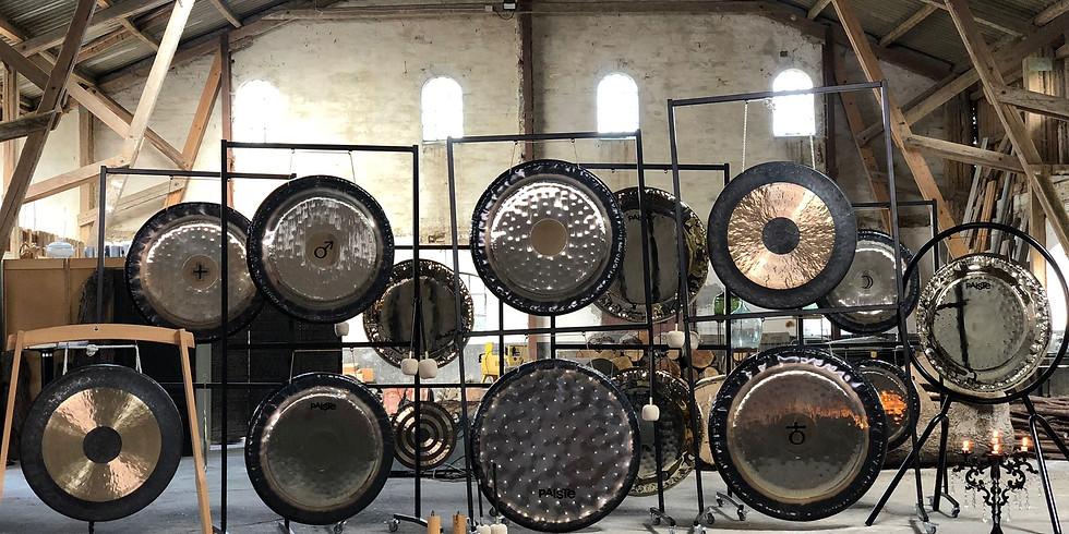 Gong meditation & mantra -Kraftfuldt Gong shower