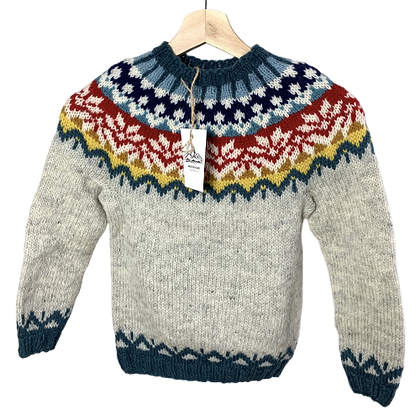 Monte Home Rainbow Sweater (Barn)