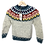 Thumbnail: Monte Home Rainbow Sweater (Barn)