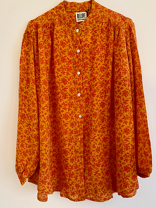 Silkeskjorte - Relove & Roses #1