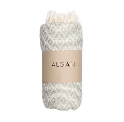 Hamam badehåndklæde, Stor/lille - Ocean