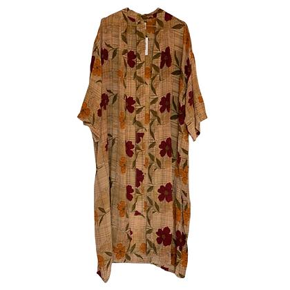 Relove and Roses Kimono i silke - Lang #21