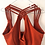 Thumbnail: Yoga top - Rust orange