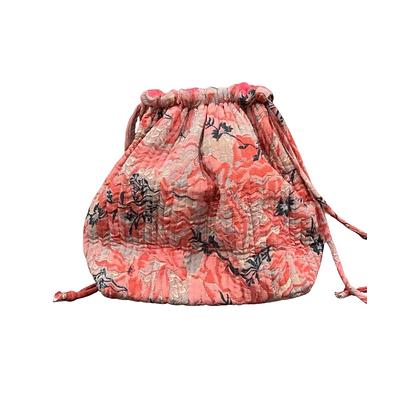 Luna Bag af silke - Rød/Pink - Relove and Roses