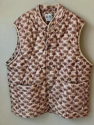 Quiltet vest - Relove&Roses #p