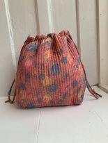 Luna Bag af silke - Rosa - Relove and Roses