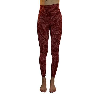 Yoga leggings - Rød