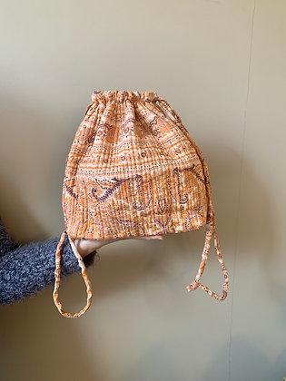 Luna Bag af silke - Orange - Relove and Roses