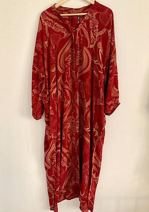 Lang silke kjole - Relove & Roses #55