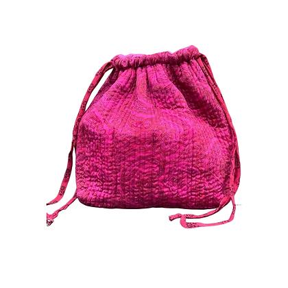 Luna Bag af silke - Cerise - Relove and Roses