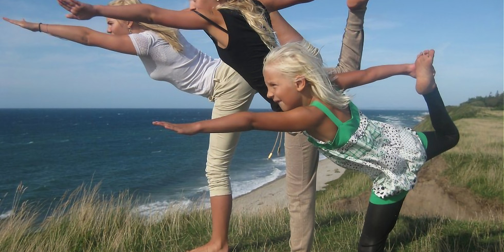 Familie Yoga hold