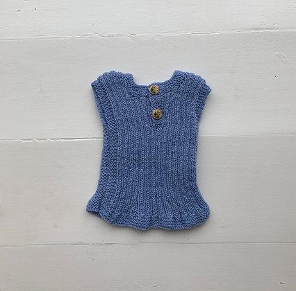 Ulden undertrøje - Blå