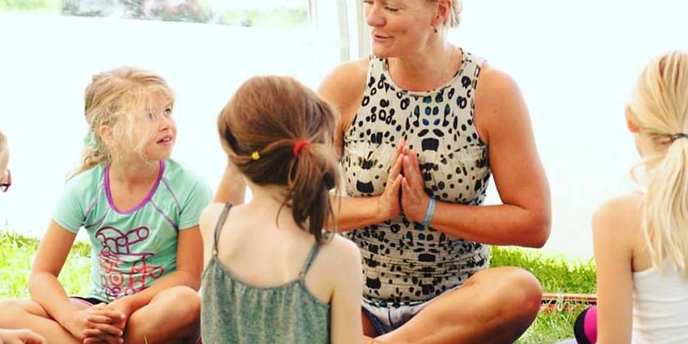 Familie Yoga workshop -Skønneste tid sammen