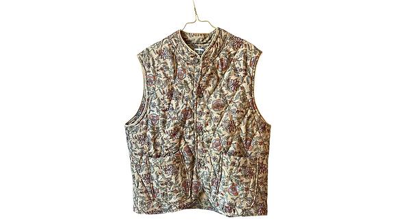 Quiltet vest - Relove&Roses #q