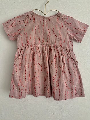 Lavendel kjole m. mønster - Noa Noa