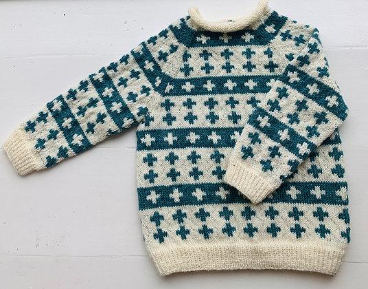 Ulden sweater - mønstret