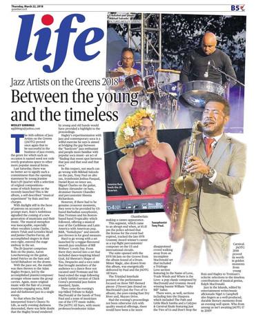 Guardian Newspaper 2018