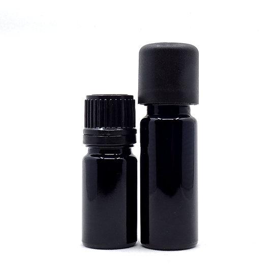 Flacon codigoutte noir pour mélange d'huiles essentielles