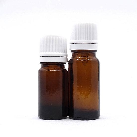 Flacon codigoutte  ambré pour mélange d'huiles essentielles