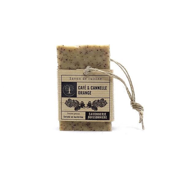 Savon de Cuisine Café & Cannelle-Orange