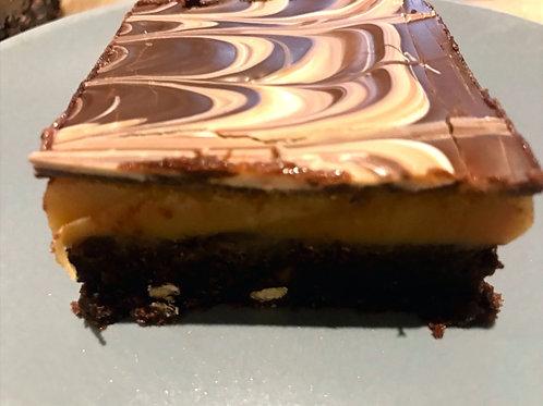 The Birmingham Triple Chocolate Millionaires Brownies