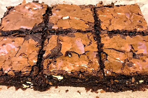 """the Birmingham"" Triple Chocolate Brownies"