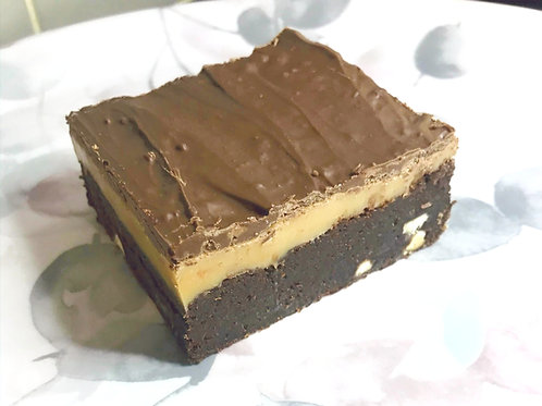 The Brittany Salted Caramel Millionaires Brownies