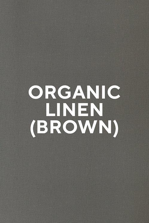 Organic Linen (Brown)