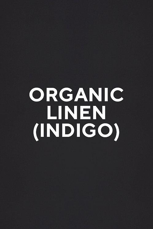 Organic Linen (Indigo)