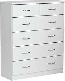 Dominic 6 Drawer Tallboy