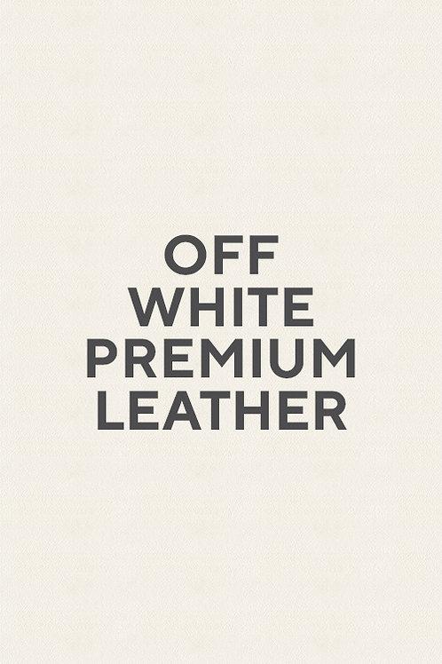 Off White Premium Leather