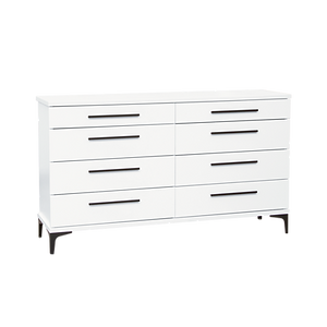 Aza White Lowboy Drawers by Platform 10 Furniture