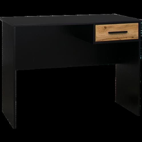Takiwira Black 1 Drawer Desk