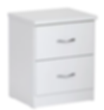 Dominic 2 Drawer Bedside Table