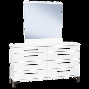 Aza White Dresser Drawers by Platform 10 Furniture