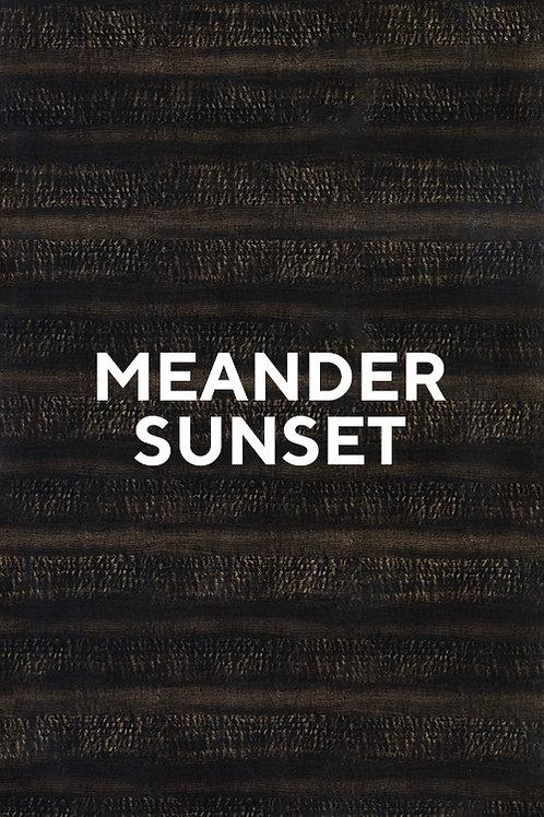 Meander Sunset