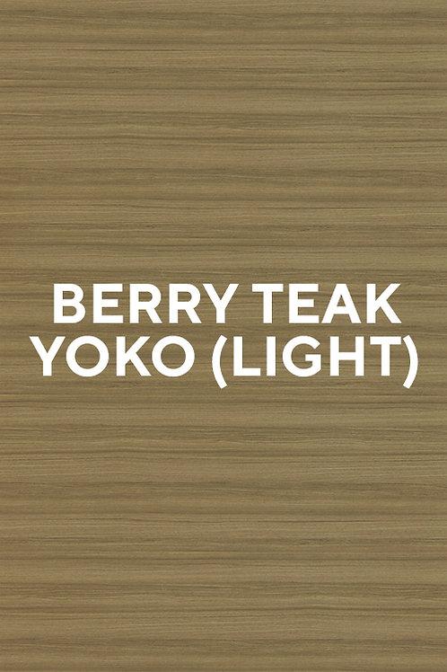 Berry Teak Yoko (Light)
