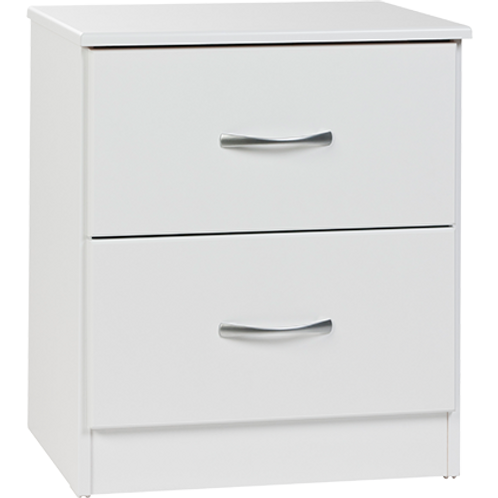 Mayson 2 Drawer Bedside Table