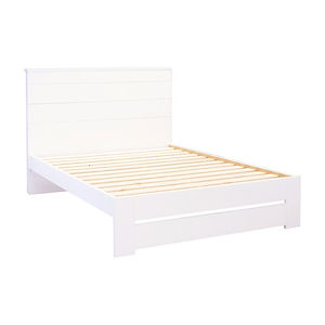 Franz White Bedframes by Platform 10 Furniture