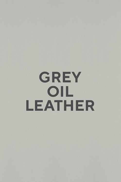 Grey Oil Leather