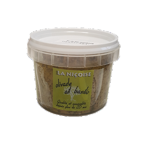 100g - Olivade ail & basilic
