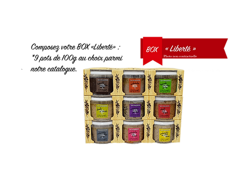 "BOX ""Liberté"""