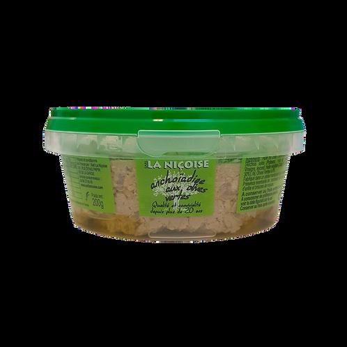 200g - Anchoïadine aux olives vertes