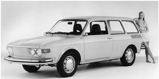 "VW 411, кузов ""Универсал"""