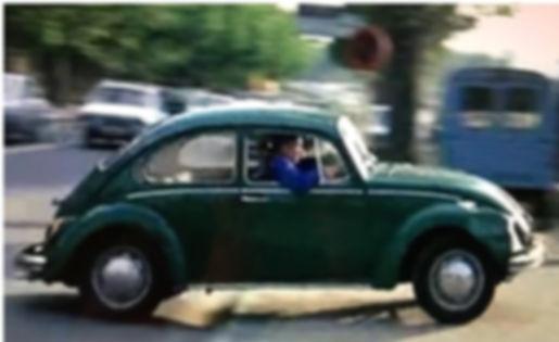 «Жук 1500», кадр из  фильма «Возвращение высокого блондина»