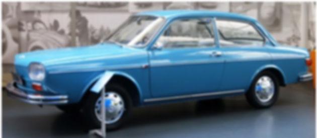 "VW 411, кузов ""Седан"", с галогенными фарами"